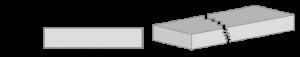 棧道截面圖 30x150mm